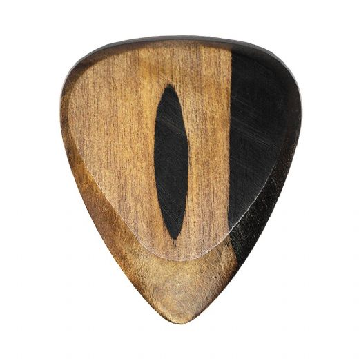 Timber Tones Fat Malay Ebony 1 Guitar Pick